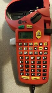 Brady Id Pal Labeling Tool Label Printer Plus 5 Cartridges