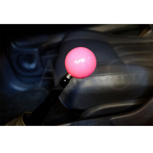 Universal Mt Car Gear Stick Shifter Shift Knob Premium Pink Ball Style Usa