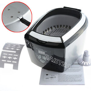 175ml Mini Dental Medical Ultrasonic Cleaner Jewelry Watch Cleanning Cd 781a
