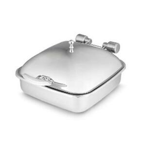 Vollrath 46133 Intrigue Chafer W solid Top Porcelain Food Pan