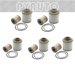 5pcs Ford Powerstroke 6 0l Diesel Oil Filter Fuel Filter 03 07 Fl2016 Fd2016