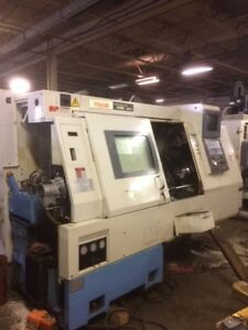 Mazak Sqt 15ms Ii Cnc Lathe With Live Tooling And Sub Spindle