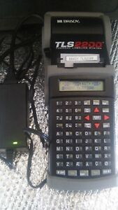 Working Brady Tls2200 Thermal Labeling System With Hard Case And Ac Power Supply