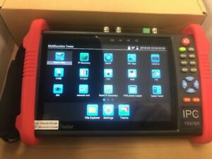Wsdcam 7 Inch All In One Ips Touch Screen Ip Camera cctv Tester 9800adhs Plus