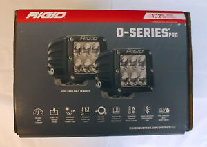 Rigid 502313 D Series Dually D2 Offroad Driving Led Light Pair Of 2