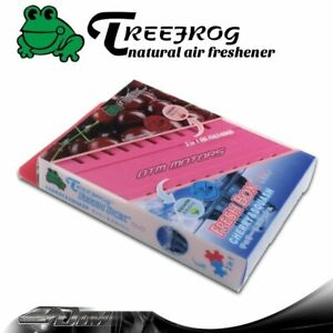 Treefrog Tree Frog Natural Xtreme Duo Car Air Freshener 2 In 1 Cherry