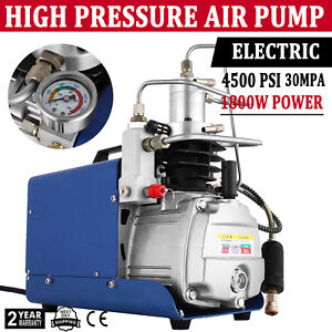 110v 30mpa Electric Air Compressor Pump High Pressure System Rifle Pcp