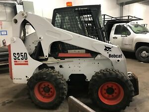 2006 Bobcat S250 Turbo Skid Steer 2124 Hours