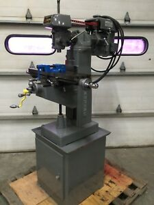 Clausing 8520 6 x24 Vertical Milling Machine Palmgren Vise Tooling Home Shop