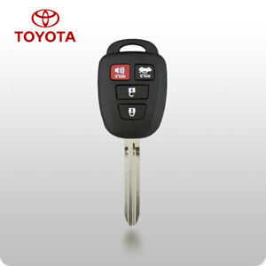 Toyota Camry 2014 2017 4 Button Remote Head Key H Chip Hyq12bdm Usa Stock