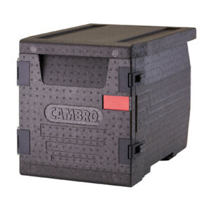 Cambro Epp300110 Gobox Insulated Front loader Food Pan Carrier