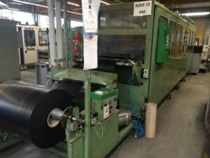 1989 Illig Rdkp 72d 4 Stations Thermoforming Machine