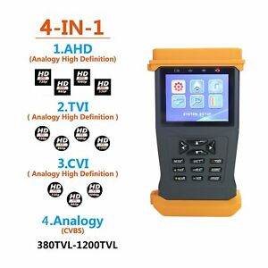 Camera Cctv Security Monitor Tester Test Ahd Tvi Cvi Analogy Camera Cable Wire