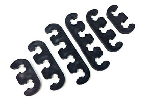 Spark Plug Wires Separators Dividers Looms 7mm 8mm Ford Chevy Mopar Black New