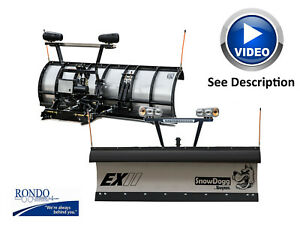 Snowdogg Snow Plow Ex80 Genii 8 Commercial Snow Plow Gen 2 Watch Vide0 In Desc
