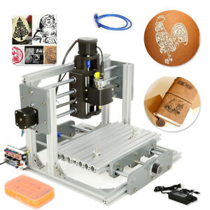 Desktop Mini Engraving Machine Engraver Milling Cnc Router Pcb Metal Diy 2417
