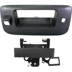 Tailgate Handle For 2007 2013 Chevrolet Silverado 1500 With Keyhole Set Of 2