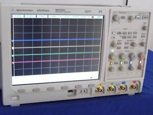 Agilent Mso7054a 500mhz 4gs s 4ch Oscilloscope With Digital Pod 4 Probes