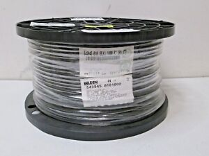 1000 Feet Belden 543945 010 Black Rg 59 Coax Cable 20 Awg Solid New Free Ship