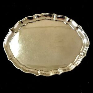 Gorham Chippendale Sterling Silver 7 1 2 Vanity Tray 41620