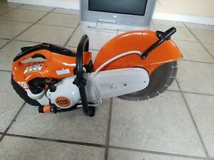Stihl Ts420 Gas Powered Concrete Saw Cut Off 14