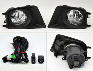Toyota Tacoma 12 15 Front Fog Lights W Covers Wiring Pair Rh Lh Right Left