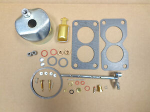John Deere 50 520 530 Carburetor Carb Kit Throttle Shaft Float Bowl