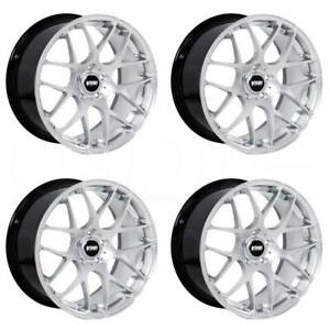 18x8 5 Vmr V710 5x112 35 Hyper Silver Wheels New Set 4