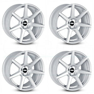 19x8 5 Vmr V706 5x112 45 Hyper Silver Wheels Rims Set 4