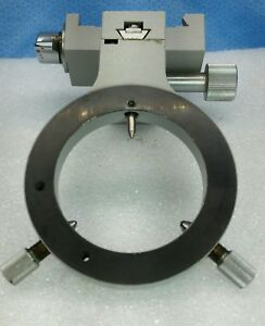Carl Zeiss Universal Photomicroscope Condenser Carrier Holder With Clamp