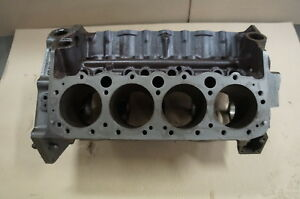 1955 Corvette Used 3703524 265 Sb Engine Bare Block Dated F 4 5 Standard Bore