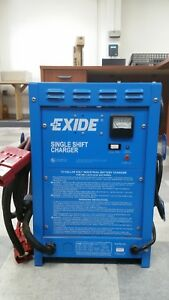 Exide Single Shift Industrial Battery Charger Ssc 12 550z Tested Oo126 b