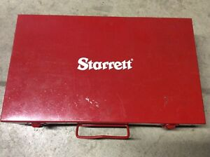 Starrett Model 655 Inspection Set W Federal Dial Indicator