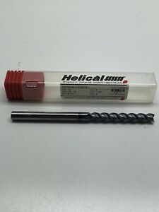 Helical Hal x 30250 Carbide Square Nose End Mill 1 4 3 Flutes