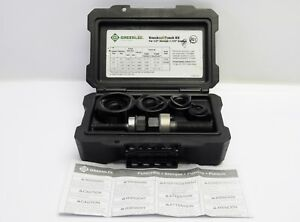 Greenlee 735bb Ball Bearing Knockout Punch Kit For 1 2 1 1 4 Conduit