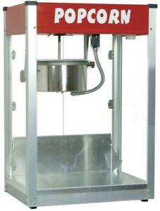 Popcorn Machine Maker Popper Kernel Party Pop Corn Commercial Stainless Steel