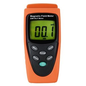 Digital Gaussmeter Emf Elf Magnetic Field Gauss Meter 30 300hz Made In Taiwan