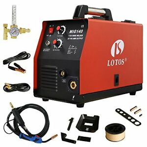Lotos Mig140 140 Amp Mig Wire Welder Flux Core And Aluminum Gas Shielded Welding