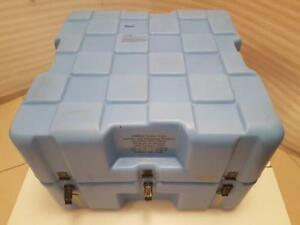 Hard Plastic Storage Military Surplus Shipping Case With Foam