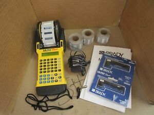 Brady Id Pro Plus Wire Marker Printer 33980 Used