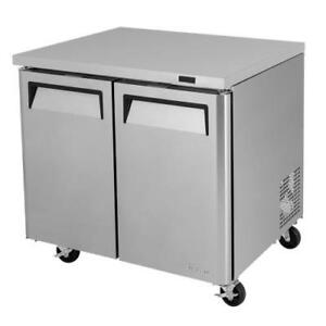 Turbo Air Muf 36 n 36 In Undercounter Freezer