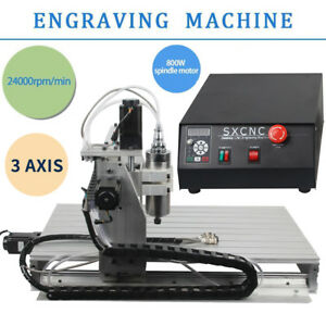 3 Axis Engraver Usb Cnc 6040 Router Engraving Drilling Milling Machine 3d Cutter