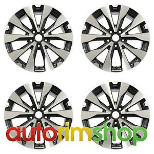 Subaru Legacy Outback 2015 2019 18 Factory Oem Wheels Rims Set Machined With