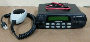 Motorola Cdm1550ls Uhf 450 520 Mhz With Mic Power Cord