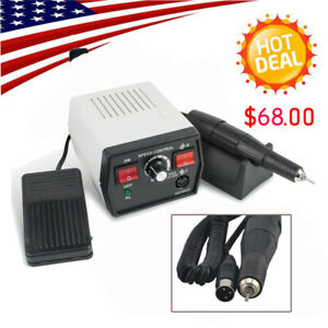New Dental Lab Fit Marathon Electric Micromotor Polishing Unit 35k Rpm Handpiece
