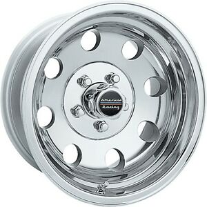 17 Inch Polished Wheels Rims Chevy Gmc Dodge Ford 8 Lug American Racing Baja 4