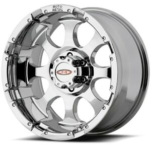 16 Inch Chrome Wheels Rims Dodge Ram 2500 3500 Truck Moto Metal Mo955 8x6 5 Lug