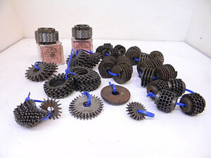 Lot 5 Used Assorted Grinding Wheel Dresser Cutters various Sizes
