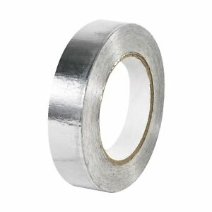 Boxes Fast Industrial Aluminum Foil Tape 5 0 Mil 1 X 60 Yds Silver pack