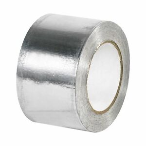 Boxes Fast Industrial Aluminum Foil Tape 5 0 Mil 3 X 60 Yds Silver pack